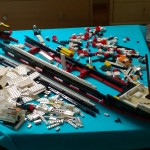 my-lego-titanic---under-construction_12522441823_o