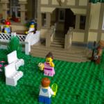 Augustin paviljonki LEGO detail