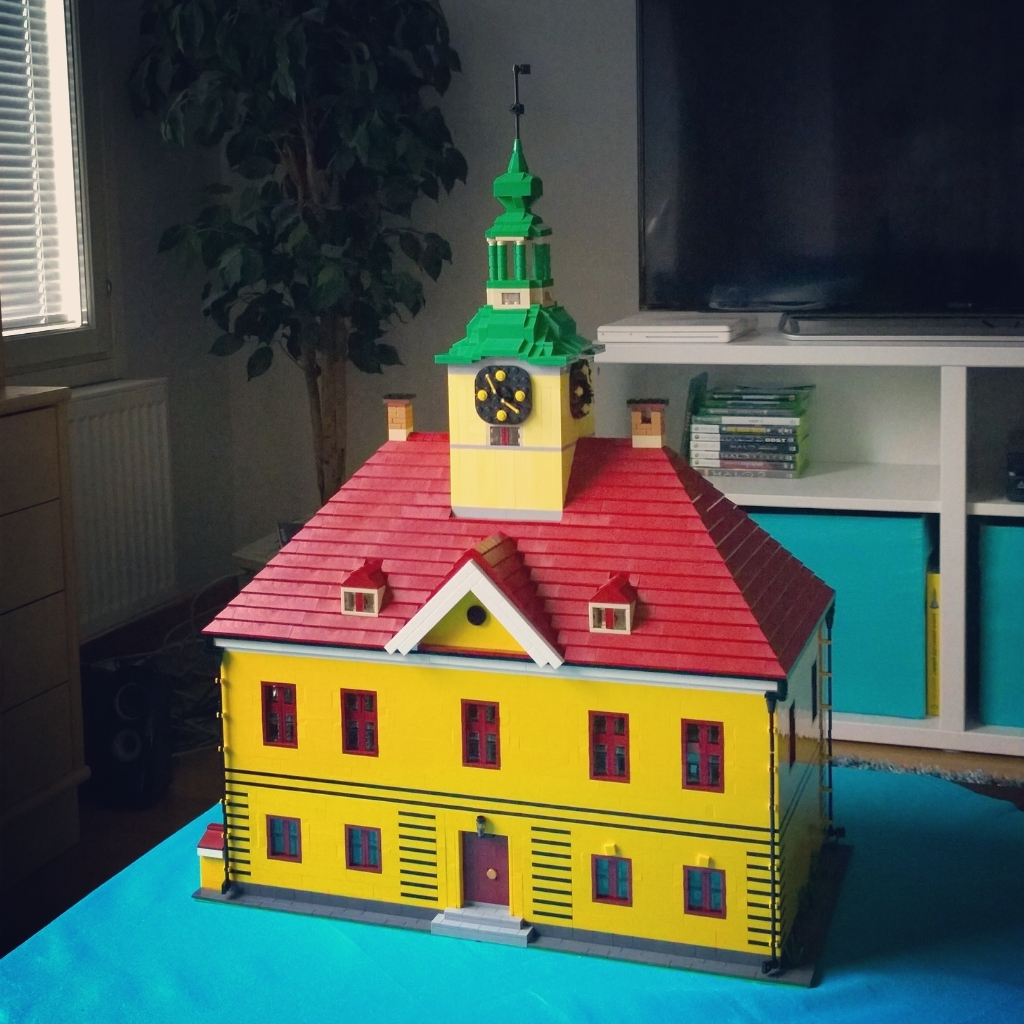 Rauma old townhall LEGO
