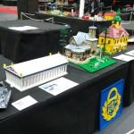 LEGO MOC Parthenon, Augustin paviljonki, Rauma town hall, Titanic at LEGO Pii Poo exhibition 2015