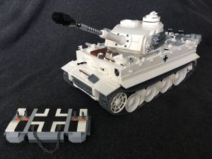 Tiger I - WWII tank made out of LEGO