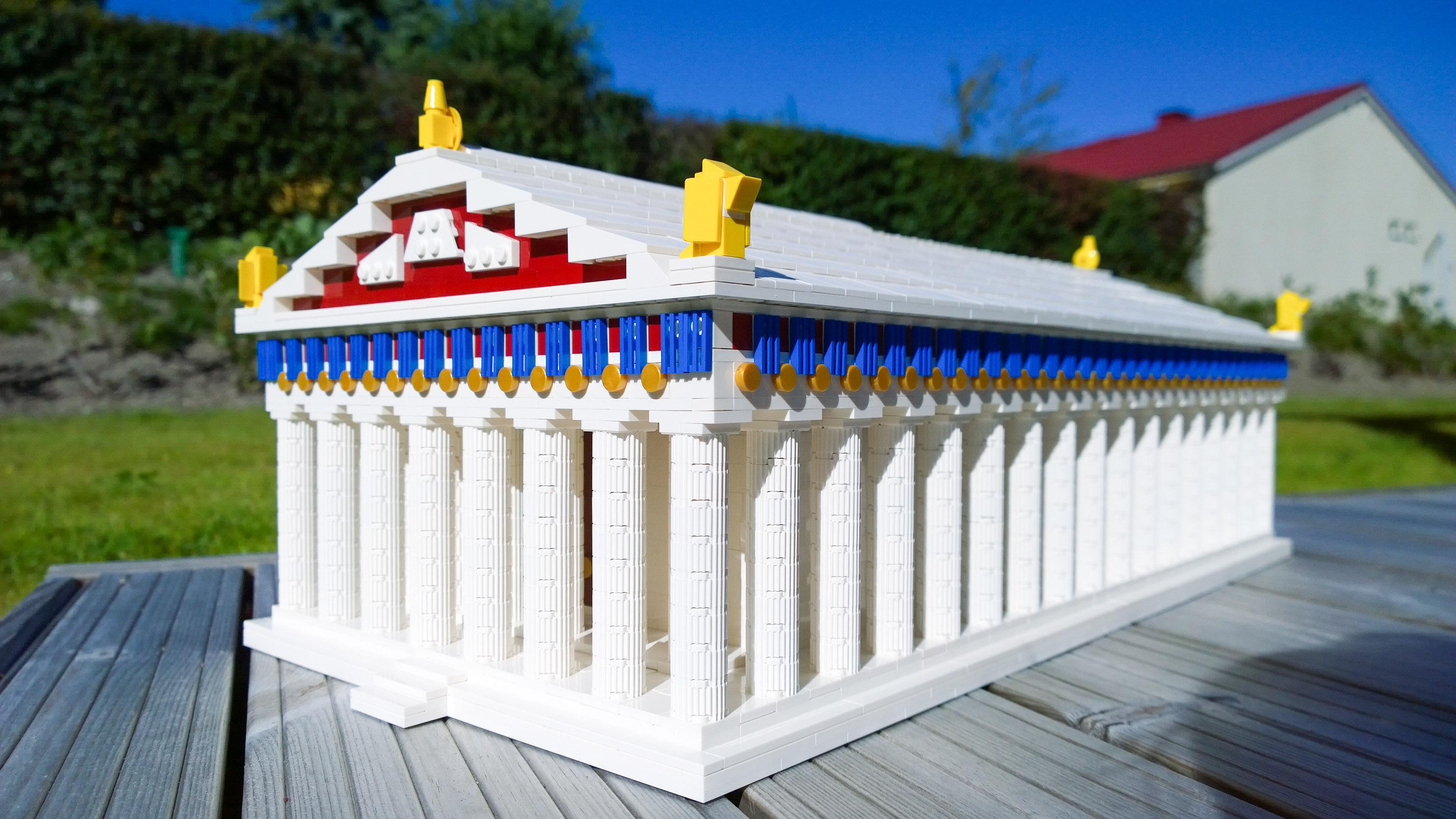 LEGO Parthenon