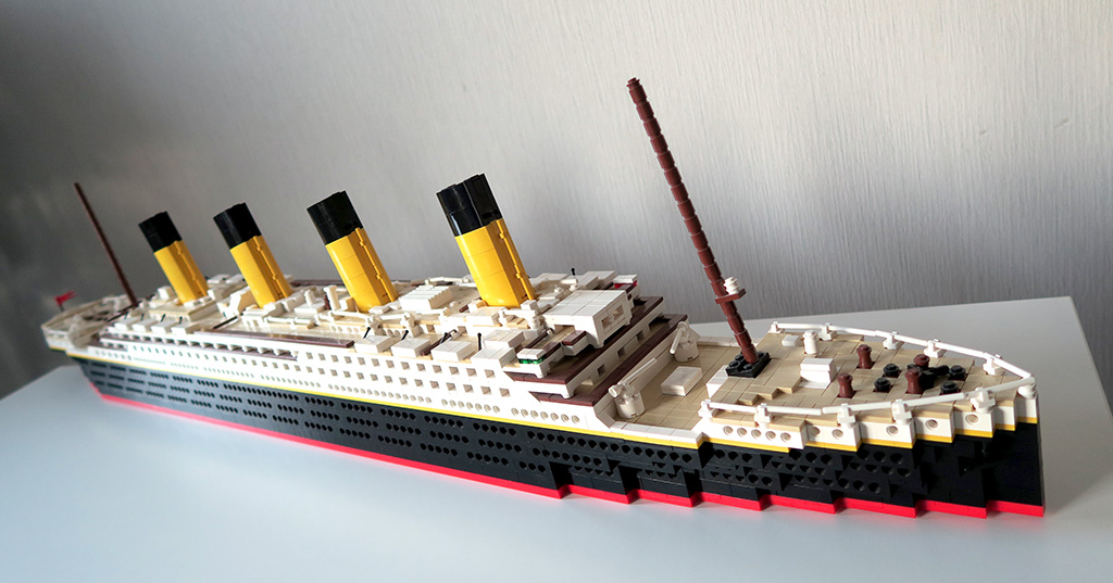 Titanic Brickbuilders Lego Moc Models From Finland