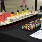 Lego Titanic at PiiPoo Lego-tapahtuma 2018