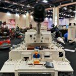 Lego Tiger I tank at PiiPoo Lego-tapahtuma 2018
